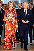King Philip Of Belgium And Queen Mathilde Attend...