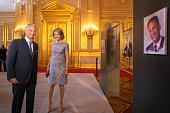 King Philip of Belgium and Queen Mathilde attend the...