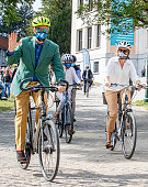 Belgian Royal Family Attend Car Free Day In Brussels