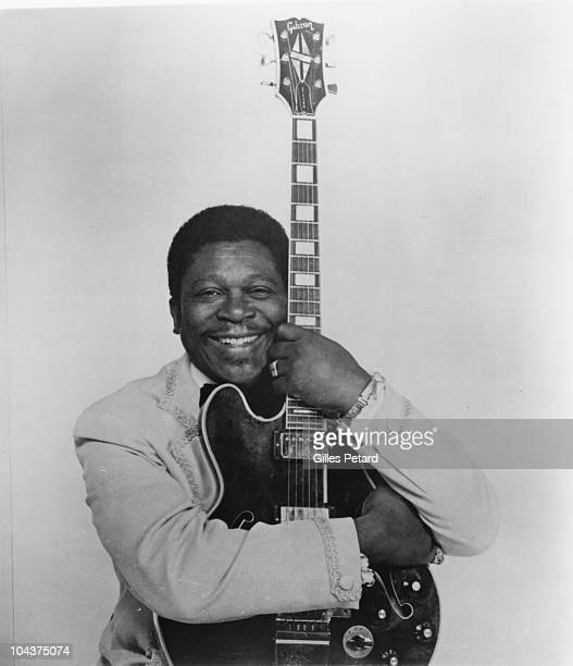BB King poses for a studio portrait in 1965 in the United States