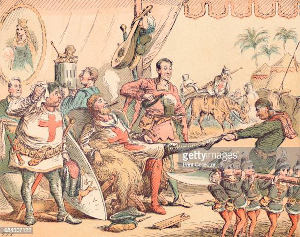 King Richard I in Palestine c1884 Richard I the Lionheart was the eldest son of Henry II and Eleanor of Aquitaine and second Angevin king of England...