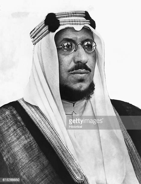 King Saud of Saudi Arabia who ruled from the death of his father Ibn Saud in 1953 until 1964