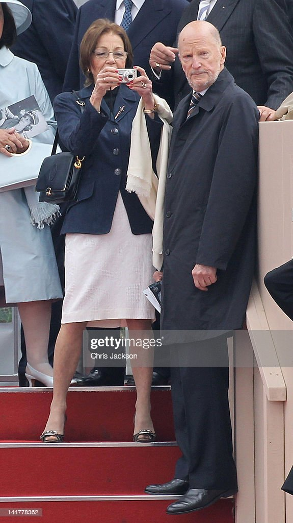 King Simeon II Of Bulgaria And Queen Margarita Attend The Armed Forces Parade