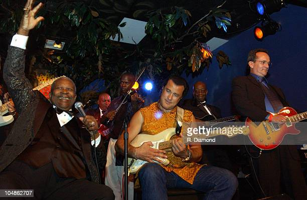 BB King Steven Seagal and Ernest King of Gibson Guitars