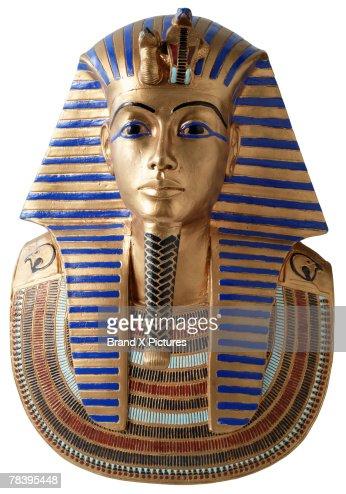 King Tut's burial mask : Stock Photo
