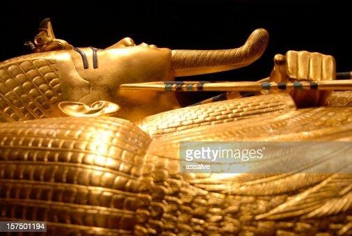 King Tut's golden tomb in Egypt