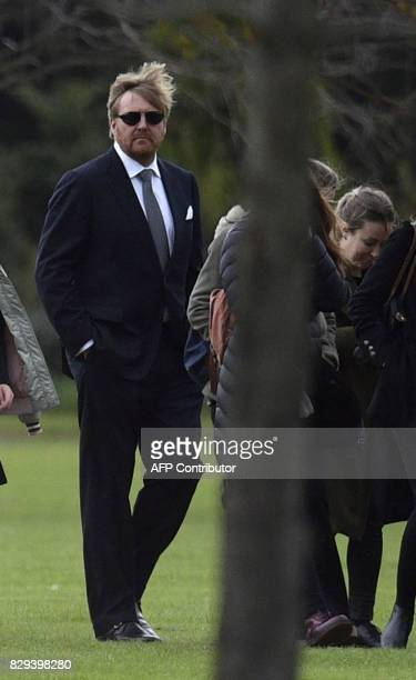 King WillemAlexander of the Netherlands along with friends and relatives leaves the Memorial park in Pilar Buenos Aires outskirts after the burial...