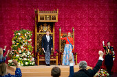 Dutch Royal Family Attends The Prinsjesdag 2021 In The...