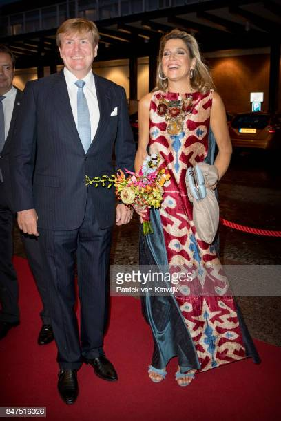 King WillemAlexander of The Netherlands and Queen Maxima of The Netherlands attend the premiere of the ballet performance 'Ode to the Master' at the...