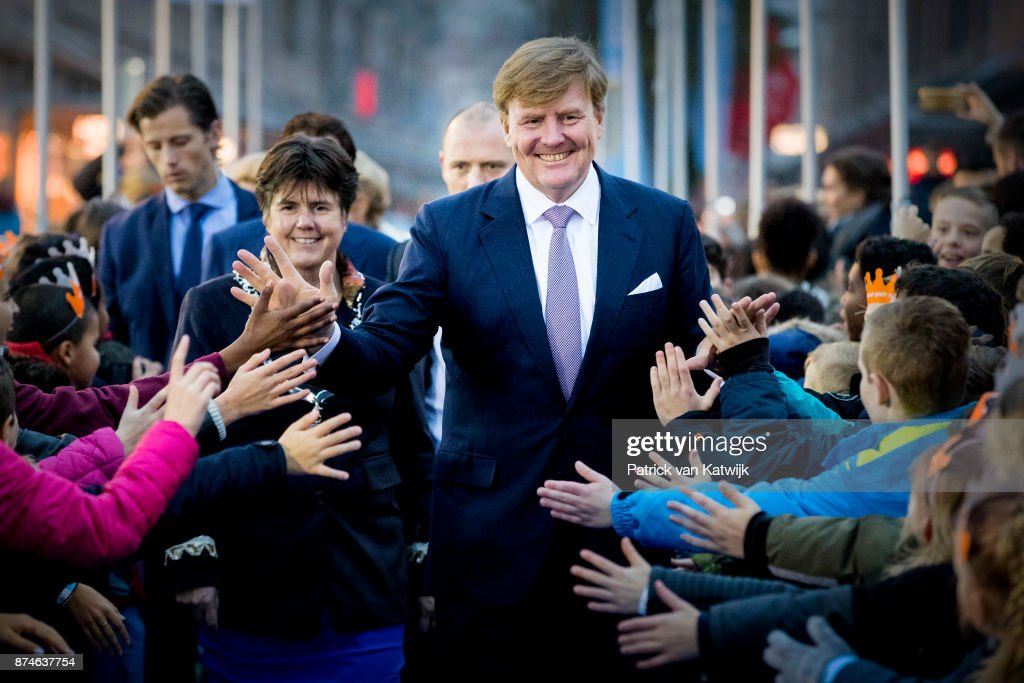 King Willem-Alexander  Of The Netherlands Attends The Lelystad 50 Anniversary