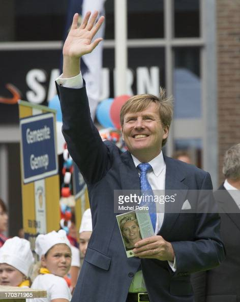 King WillemAlexander of The Netherlands is seen during an official visit on June 12 2013 in Venlo Netherlands