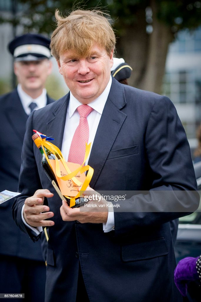 King Willem-Alexander Of The Netherlands Opens Eurojust In The Hague