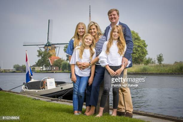 King WillemAlexander of The Netherlands Queen Maxima of The Netherlands Crown Princess Amalia of The Netherlands Princess Alexia of The Netherlands...
