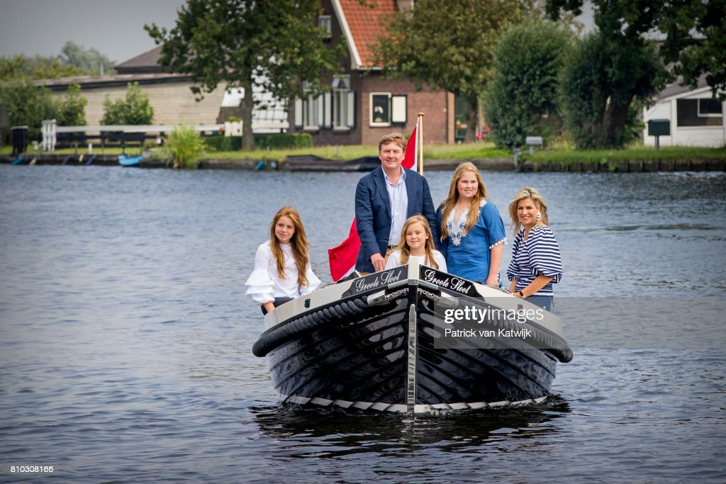 Dutch Royal Family Summer Photo Call