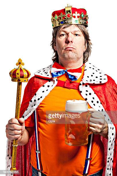 King with Beer