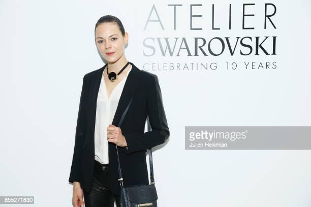 Kinga Rajzak attends the Atelier Swarovski By Jason Wu dinner as part of the Paris Fashion Week Womenswear Spring/Summer 2018 on September 28 2017 in...