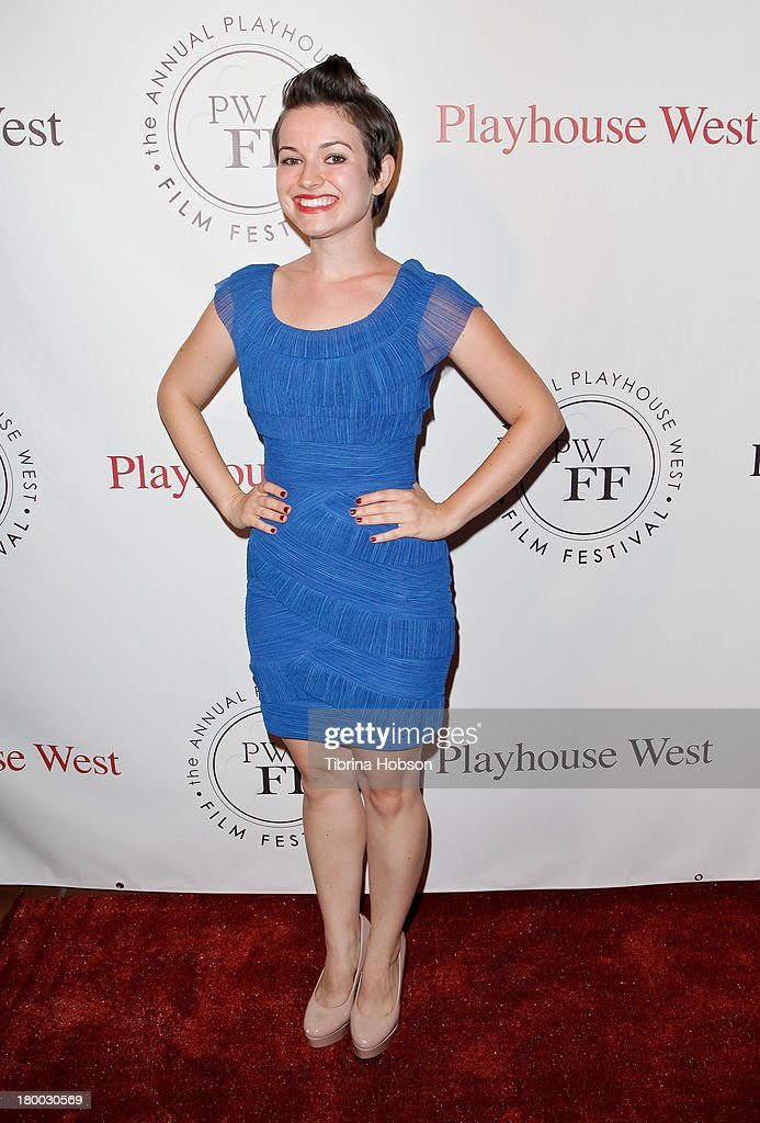 Kinga Rosen attends the 17th annual Playhouse West Film Festival 'Daisy's' premiere at El Portal Theatre on September 7, 2013 in North Hollywood, California.