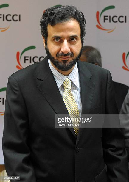 Kingdom of Saudi Arabia's Minister of Commerce and Industry Tawfeeq Bin Fouzan Al Rabea attends the 4th IndiaSaudi Arabia business council meeting in...