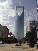 Kingdom tower in Riyadh Saudi Arabia