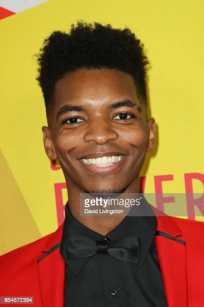 Kinglsey attends the 7th Annual 2017 Streamy Awards at The Beverly Hilton Hotel on September 26 2017 in Beverly Hills California