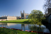 'Kings College, Cambridge, from the Backs'