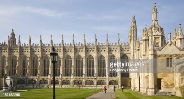 King's College chapel Cambridge university Cambridgeshire England