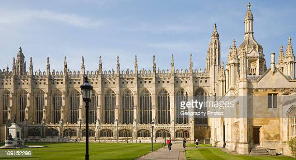 King's College chapel Cambridge university Cambridgeshire England