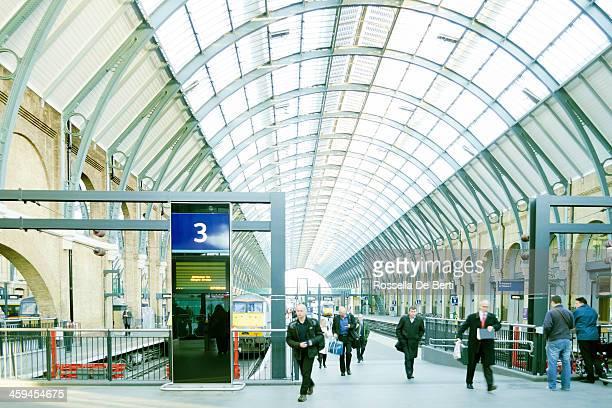 King's Cross Railway Station London - Commuters