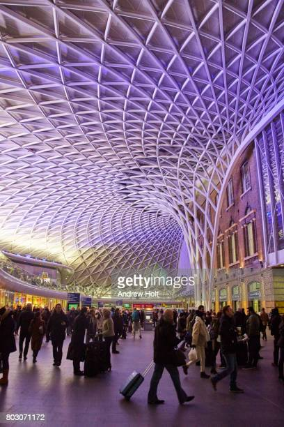 King's Cross Station Concourse at night