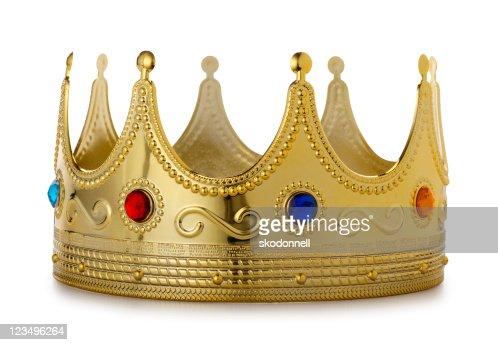 Kings Crown on White