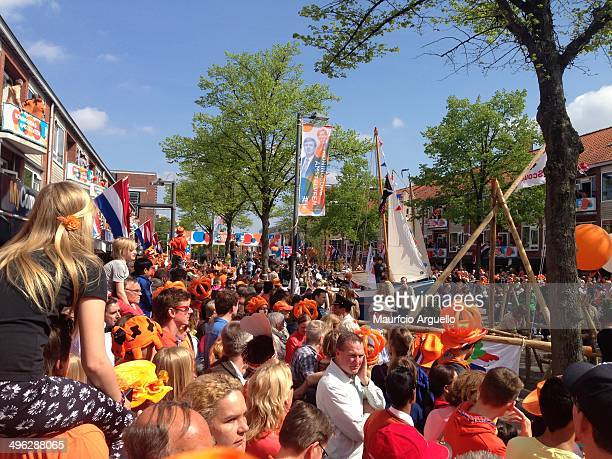 King's day all in orange