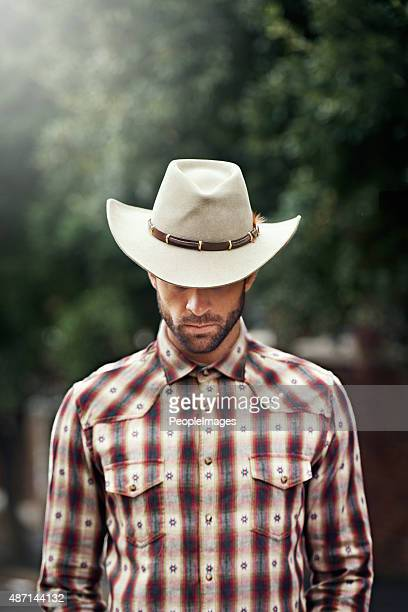 Kings have crowns, but a cowboy only has one hat