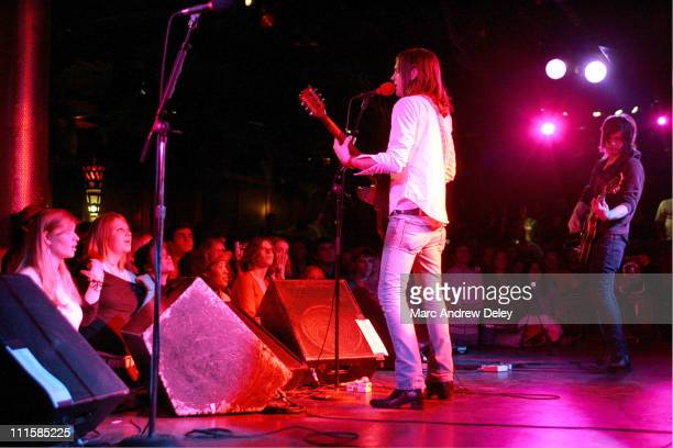 Kings of Leon during Kings of Leon in Concert February 27 2005 at Paradise Rock Club in Boston Massachusetts United States