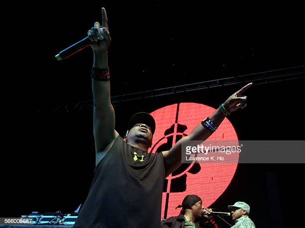 Kings of the Mic Tour with hiphop artist Chuck D of PUBLIC ENEMY at the Greek Theatre in Los Angeles on Jul 07 2013 Kings of the Mic Tour wrapup in...