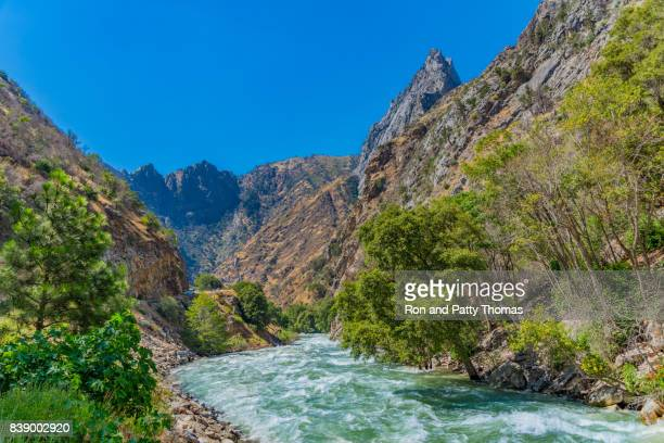 Kings River flows in Kings Canyon National Park; CA