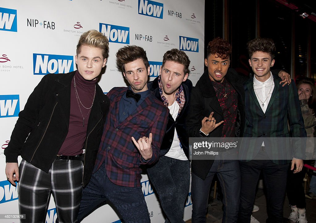 Kingsland Road attend the Now Magazine Christmas party at Soho Sanctum Hotel on November 26, 2013 in London, England.