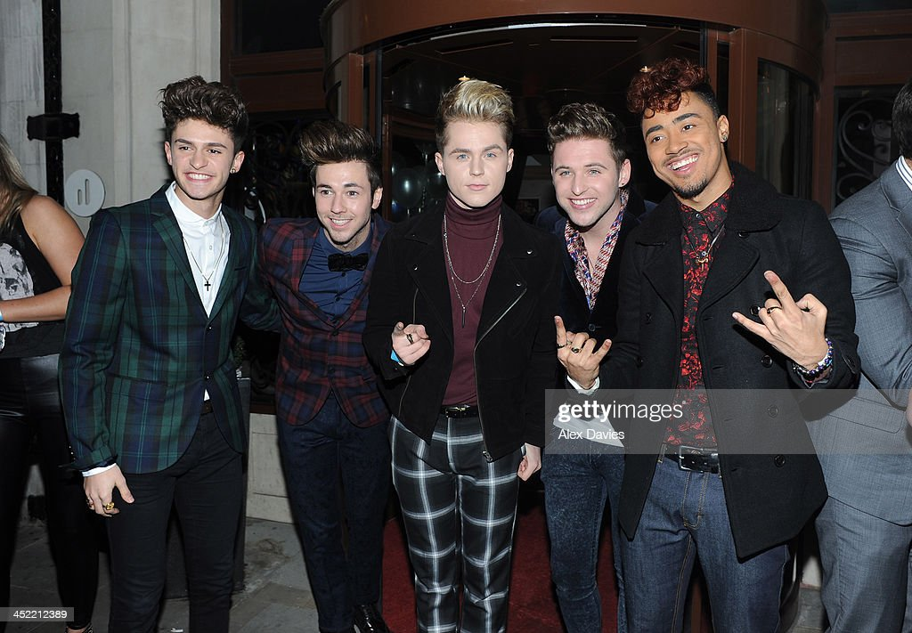 Kingsland Road attend the Now magazine Christmas party on November 26, 2013 in London, England.