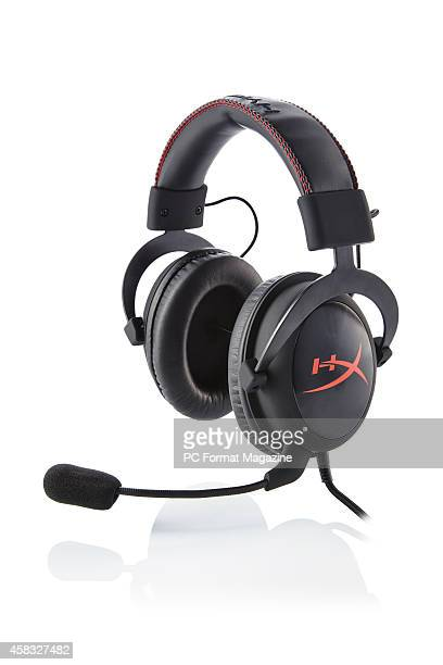 A Kingston Hyperx Cloud Pro gaming headset taken on April 10 2014