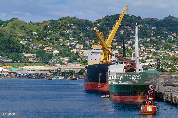 Kingstown Harbor, Saint-Vincent-et-les-Grenadines