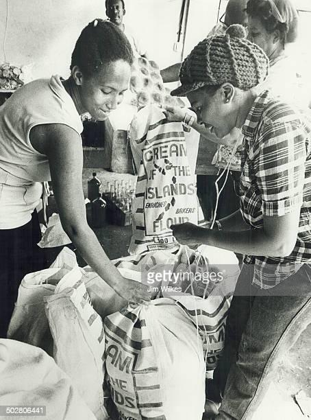 Kingstown St Vincent Food distribution
