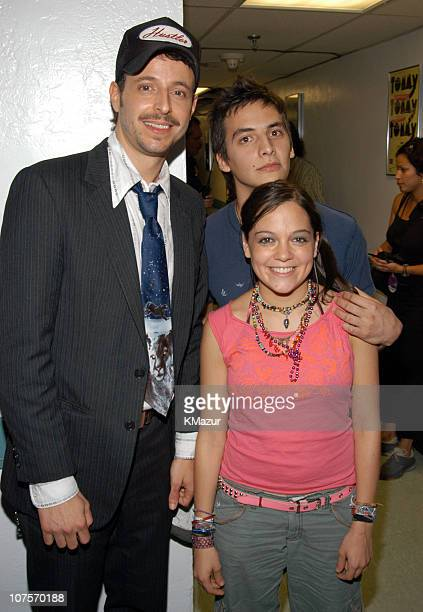 Kinky and Natalia Lafourcade during MTV Video Music Awards Latin America 2003 Backstage and Audience at The Jackie Gleason Theater in Miami Beach...