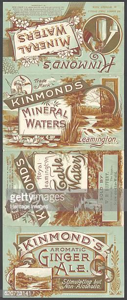 Kinmond's Mineral water 1890s