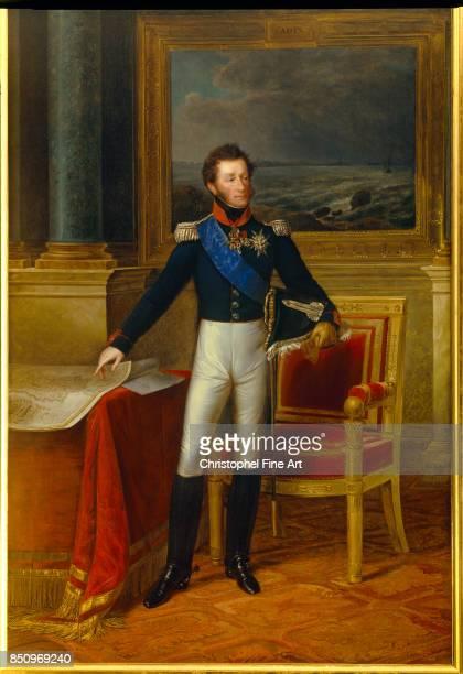 Kinson Francois Joseph Full Length Portrait of Louis Antoine of France 1825 Duke of Angouleme Palace of Versailles