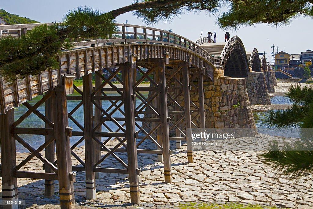 Kintai bridge Iwakuni Japan