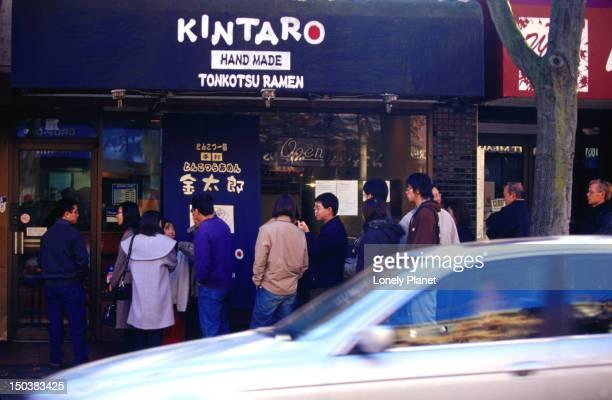 Kintaro ramen noodle shop, West End.