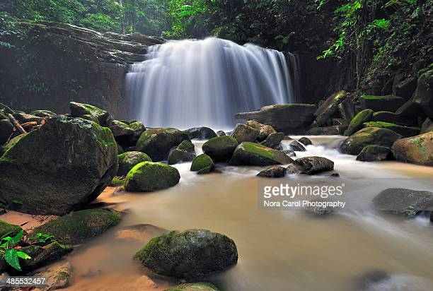 Kionsom Waterfall Kota Kinabalu Sabah