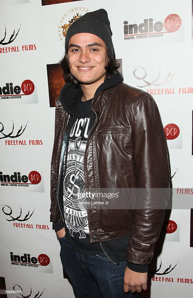 Kiowa Gordon attends the Los Angeles Screening 'Guns, Girls & Gambling' held at the Laemlle NoHo 7 on December 13, 2012 in North Hollywood, California.