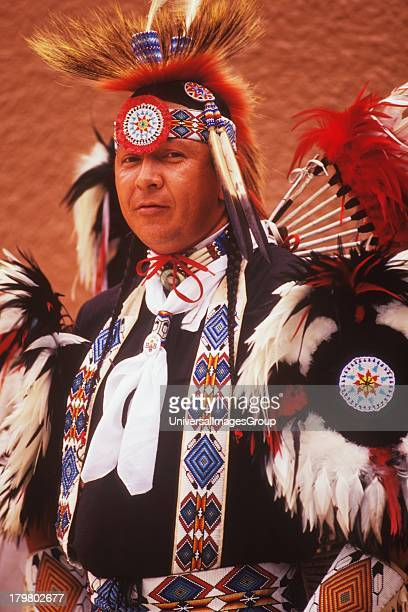Kiowa/Comanche Dancer Plains Indian Tribe Gallup InterTribal Indian Ceremonial Gallup New Mexico