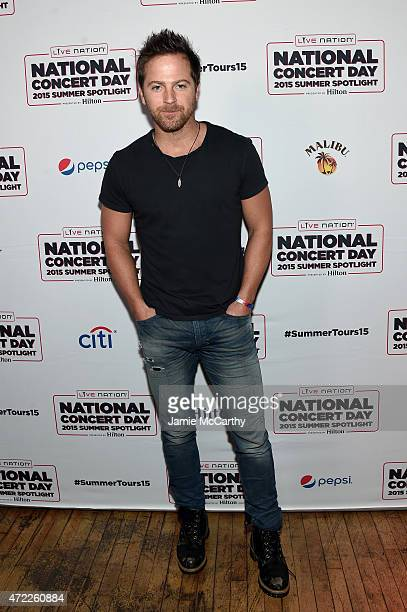 Kip Moore arrives as Live Nation Celebrates National Concert Day At Their 2015 Summer Spotlight Event Presented By Hilton at Irving Plaza on May 5...