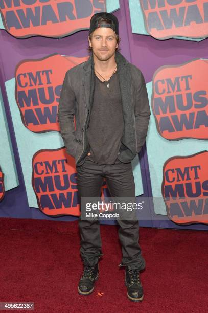 Kip Moore attends the 2014 CMT Music awards at the Bridgestone Arena on June 4 2014 in Nashville Tennessee